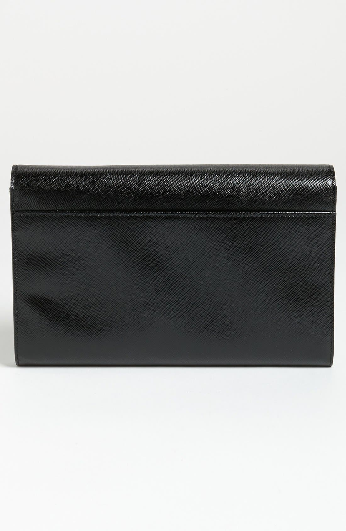 Alternate Image 3  - Halogen® Saffiano Leather Clutch