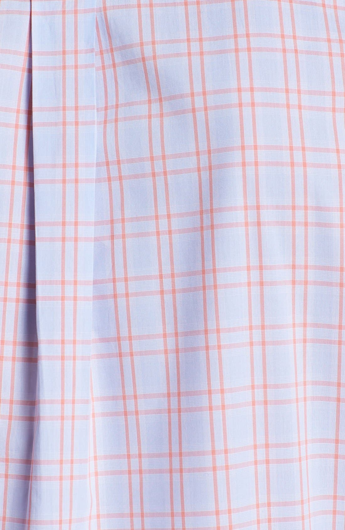 Alternate Image 3  - Façonnable Club Fit Window Plaid Sport Shirt