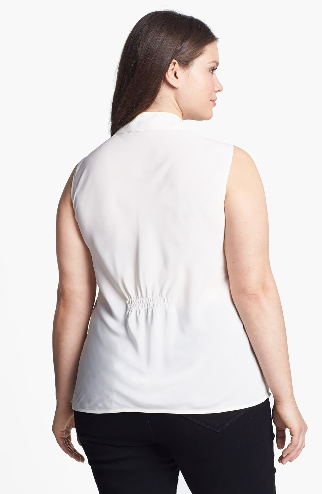 Alternate Image 2  - Nic + Zoe 'Day to Night' Sleeveless Blouse (Plus Size)