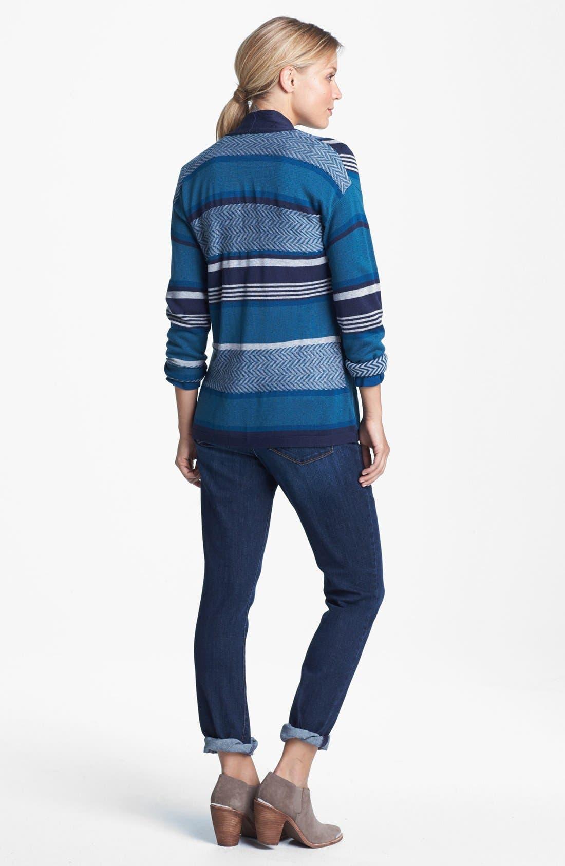 Alternate Image 4  - NYDJ 'Leann' Stretch Skinny Boyfriend Jeans