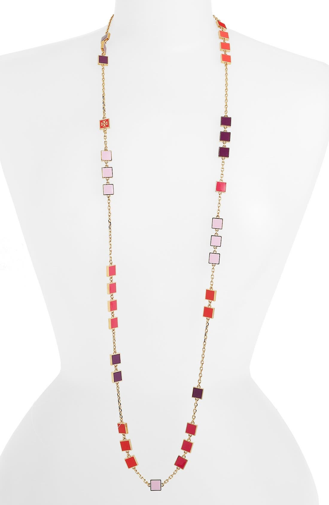 Main Image - Tory Burch Extra Long Station Necklace