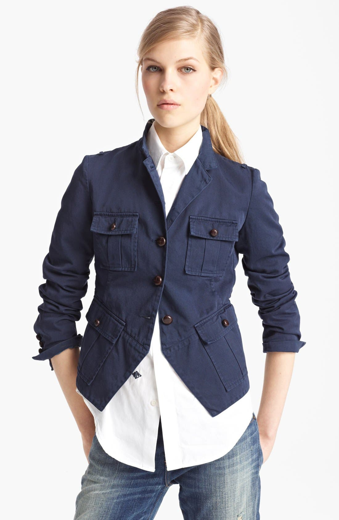 Alternate Image 1 Selected - Band of Outsiders Military Jacket