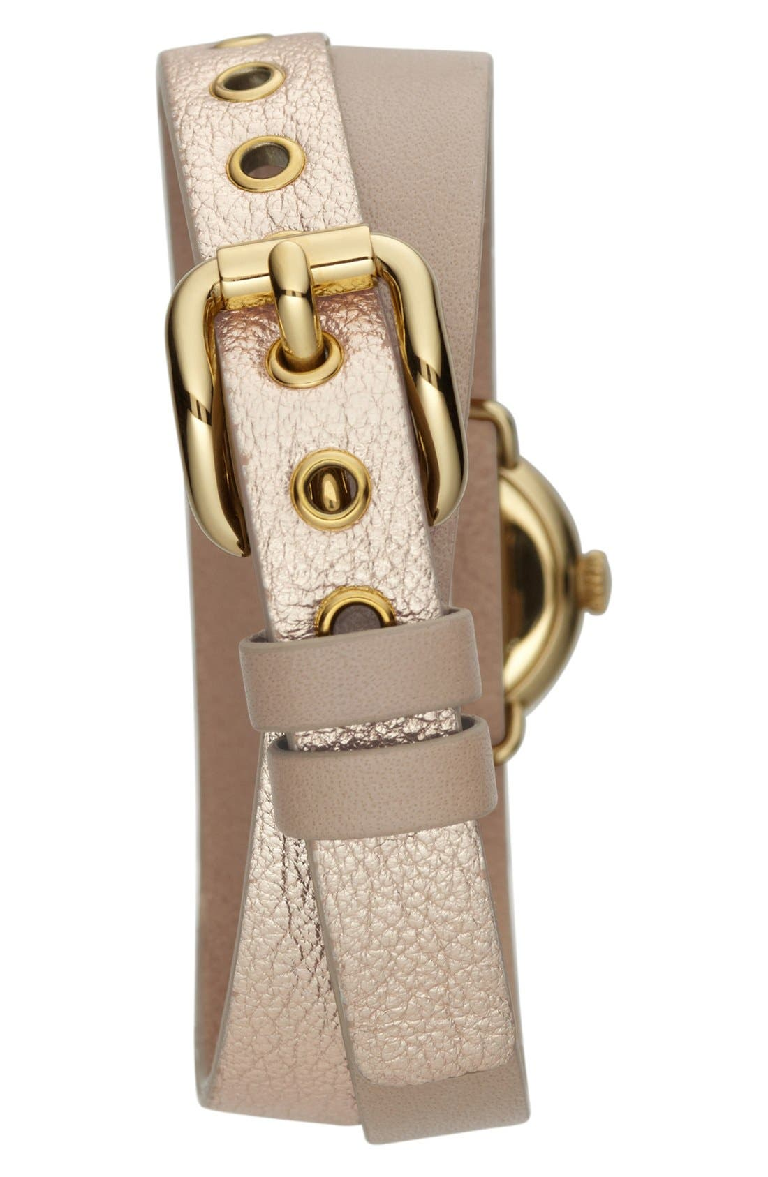 Alternate Image 2  - MARC JACOBS 'Amy Dinky' Double Wrap Strap Watch, 21mm