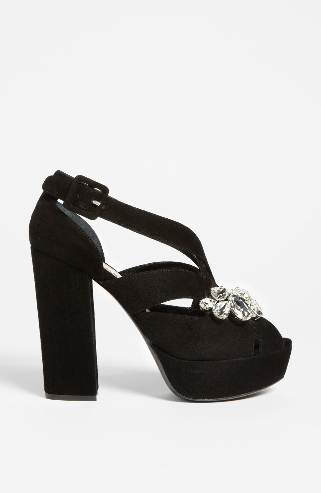 Alternate Image 4  - Miu Miu Jewel Platform Sandal