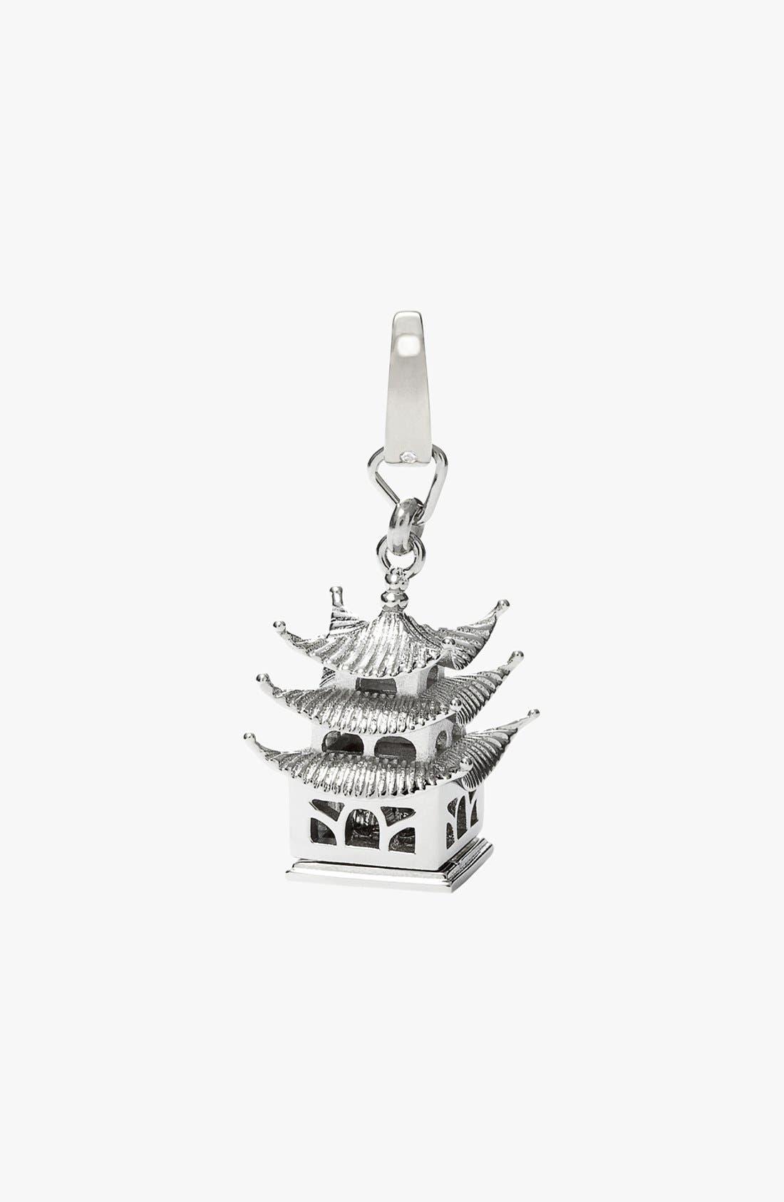 Alternate Image 1 Selected - Fossil Pagoda Dangle Charm