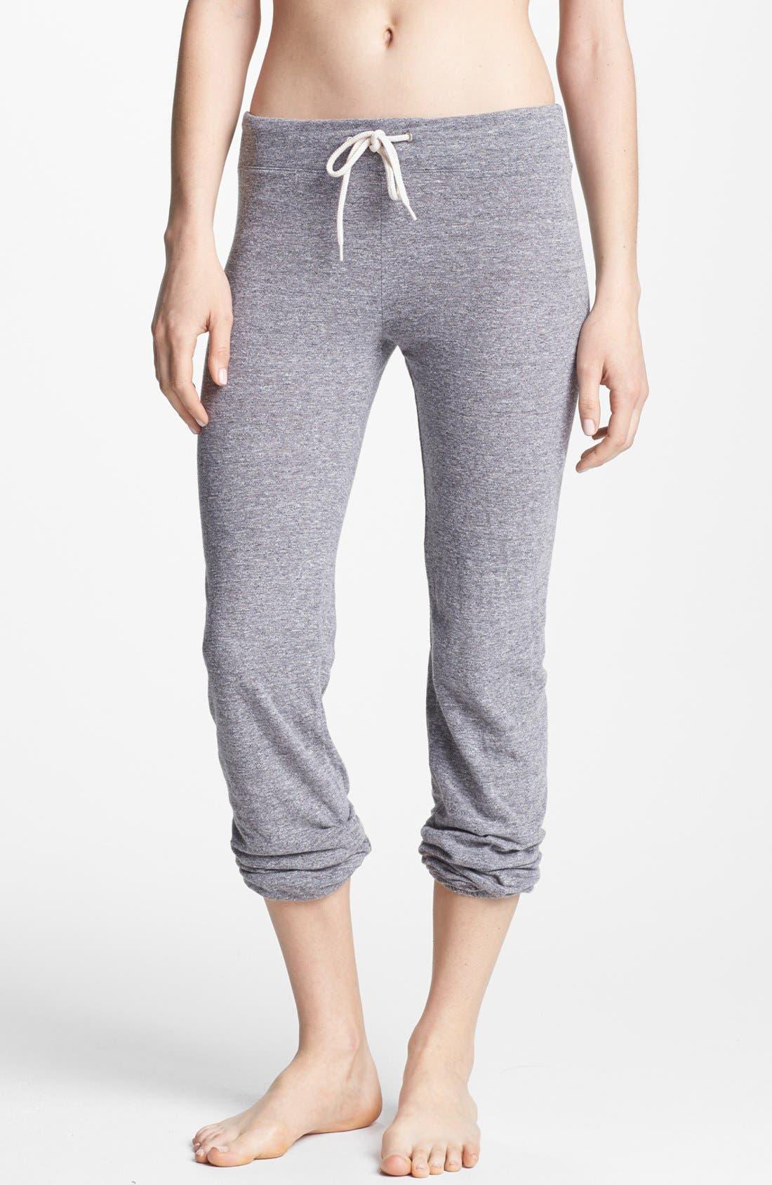 Main Image - Monrow Vintage Granite Jersey Sweatpants