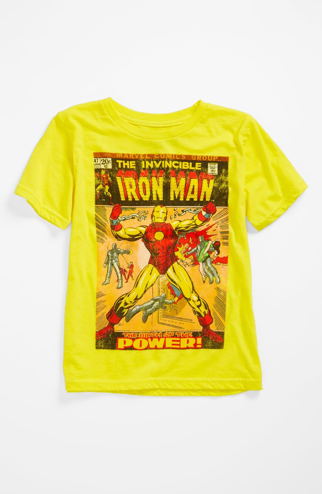 Alternate Image 2  - Jem 'The Invincible Iron Man™' Thermocolor T-Shirt (Little Boys)