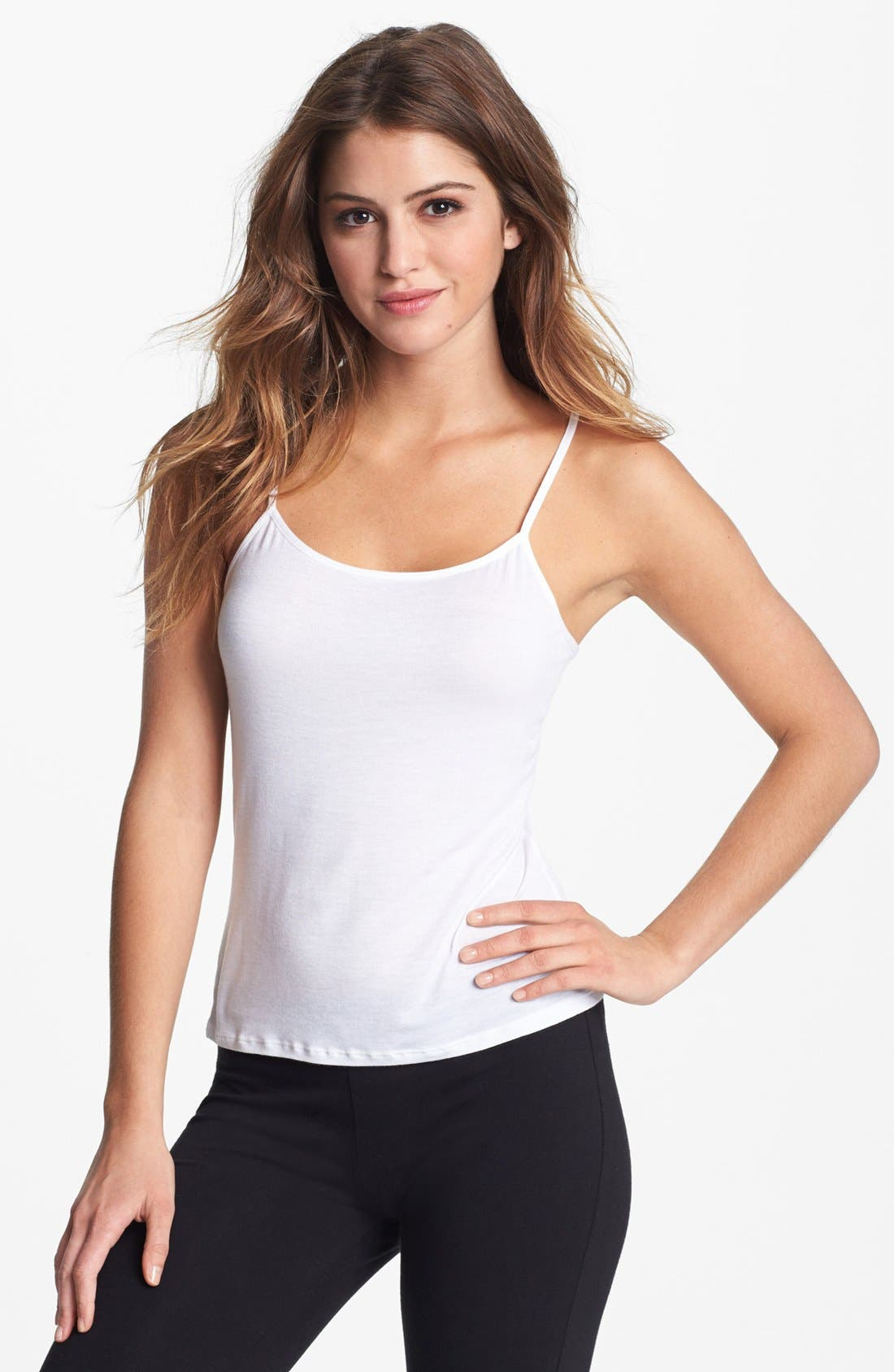 Alternate Image 1 Selected - Calvin Klein Layering Camisole