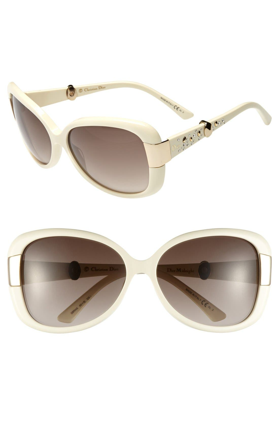 Alternate Image 1 Selected - Dior Oversized Sunglasses