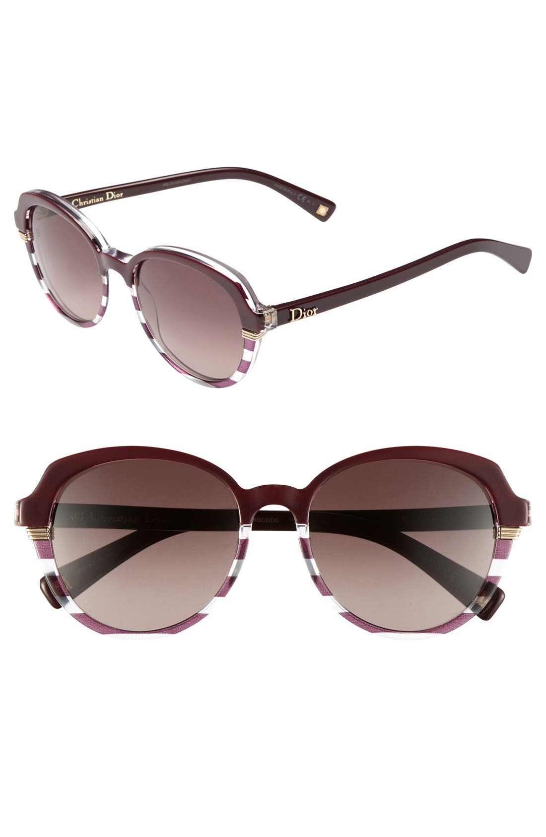 Alternate Image 1 Selected - Dior 'Croisette 3' Retro Sunglasses