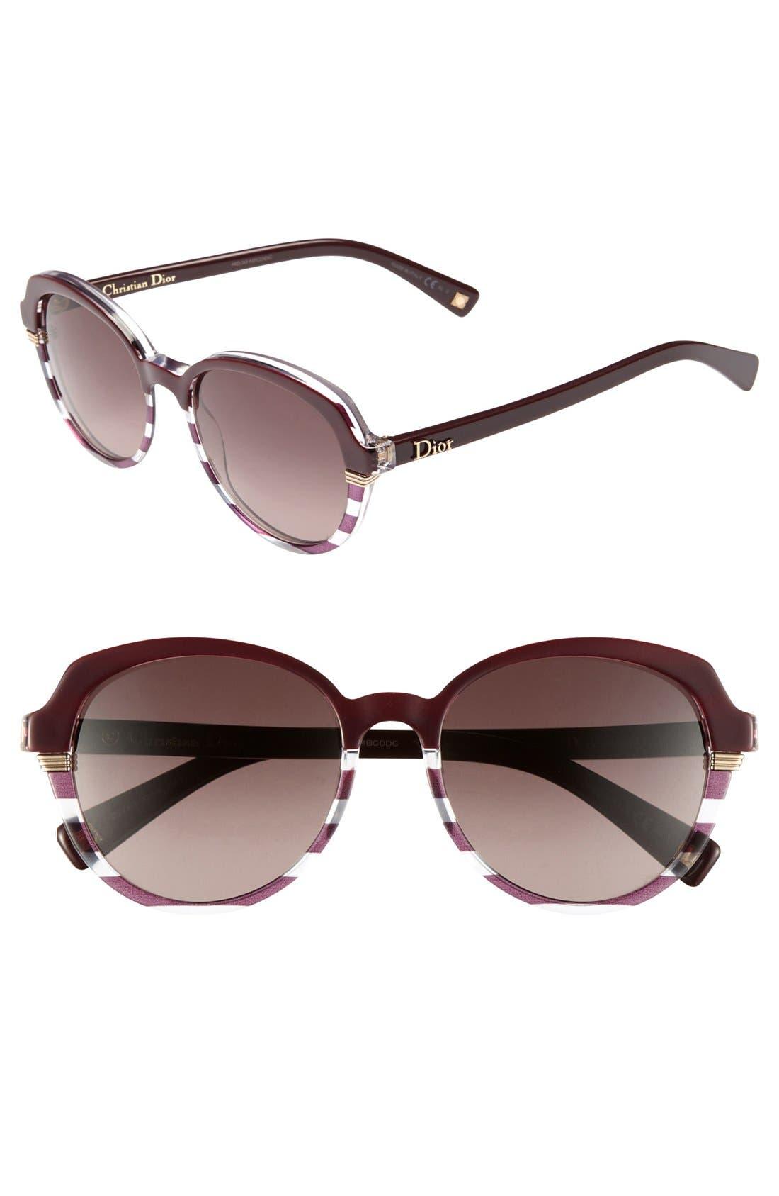 Main Image - Dior 'Croisette 3' Retro Sunglasses