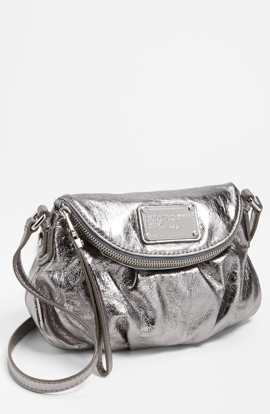Main Image - MARC BY MARC JACOBS 'Classic Q Natasha - Mini' Crossbody Flap Bag