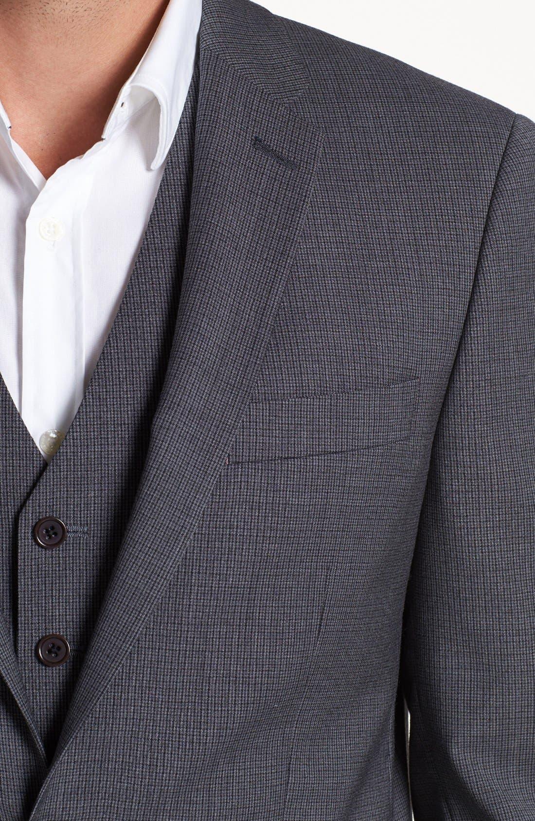 Alternate Image 2  - John Varvatos Star USA 'Townshend' Trim Fit Check Sportcoat