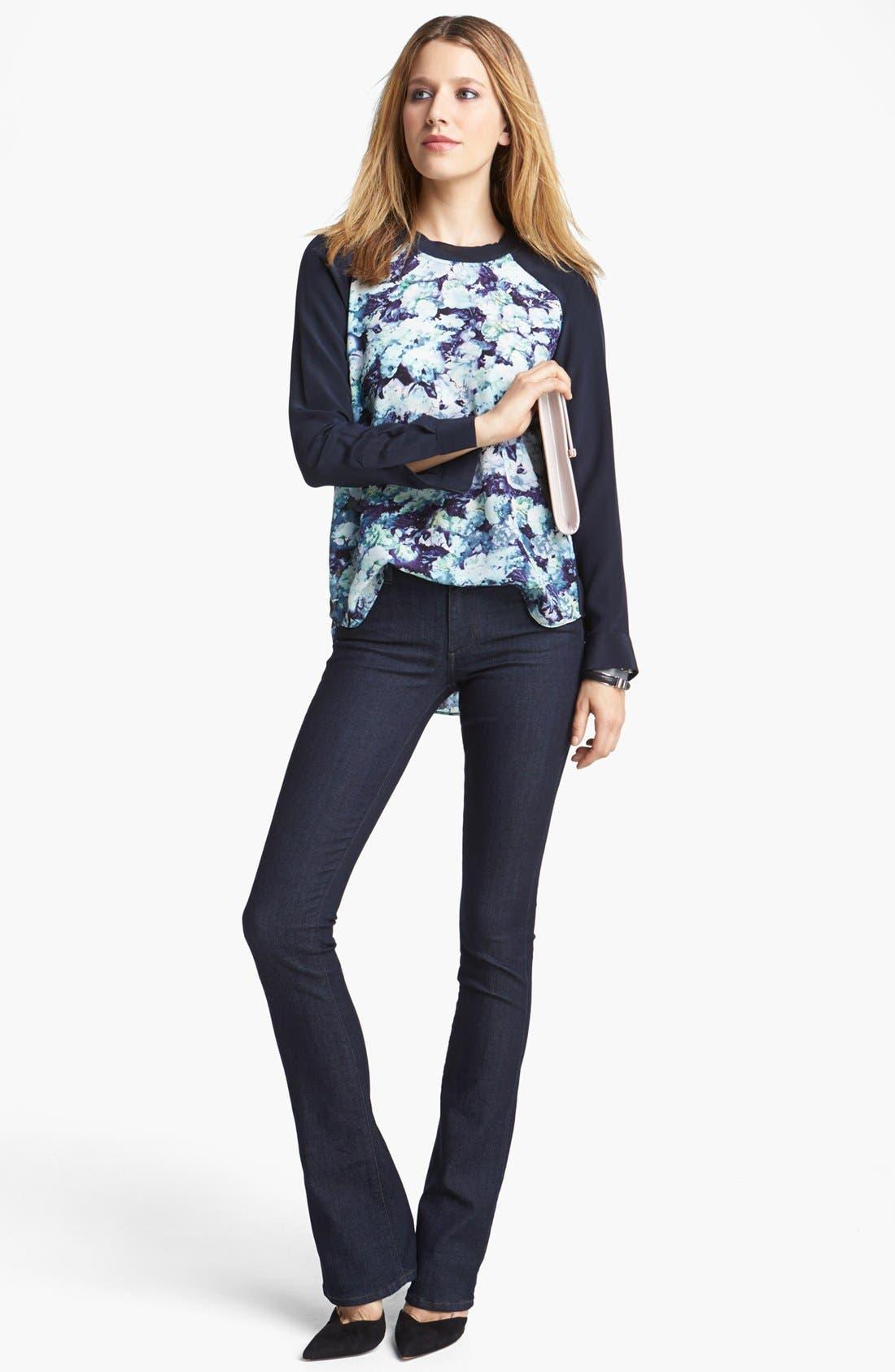 Alternate Image 4  - Paige Denim 'Manhattan' Baby Bootcut Jeans (Elyse)