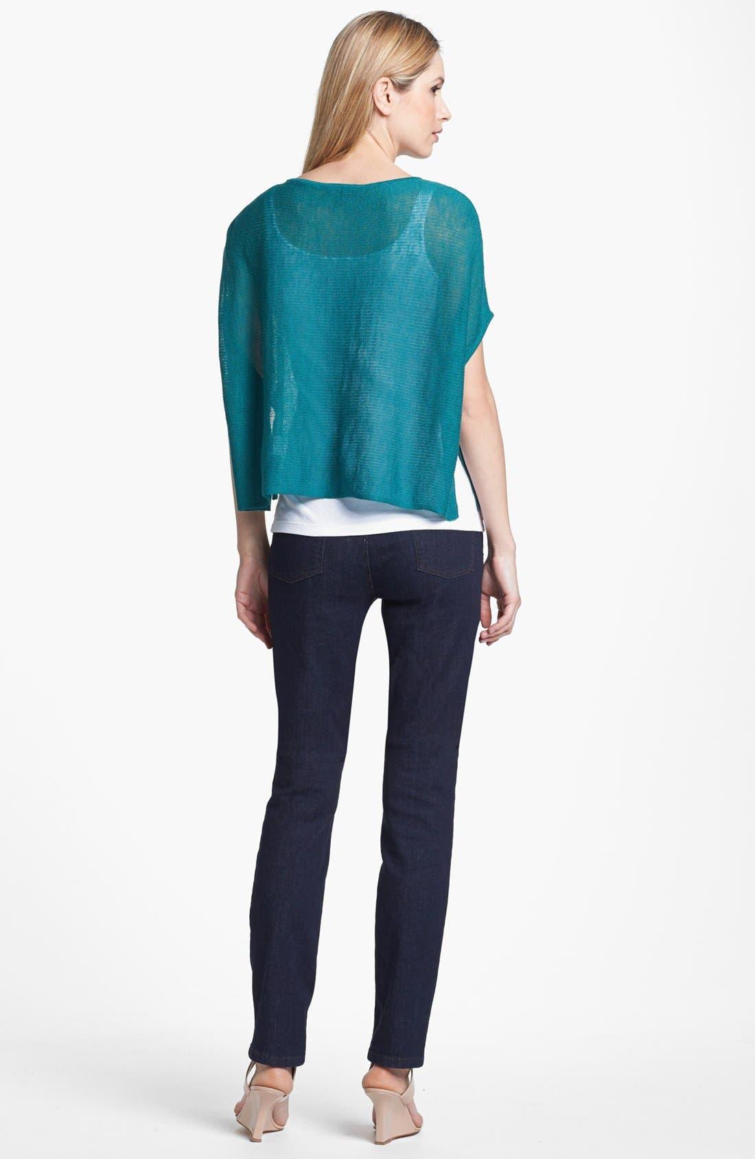 Alternate Image 3  - Eileen Fisher 'Ethereal Wool' Short Poncho Top (Regular & Petite)