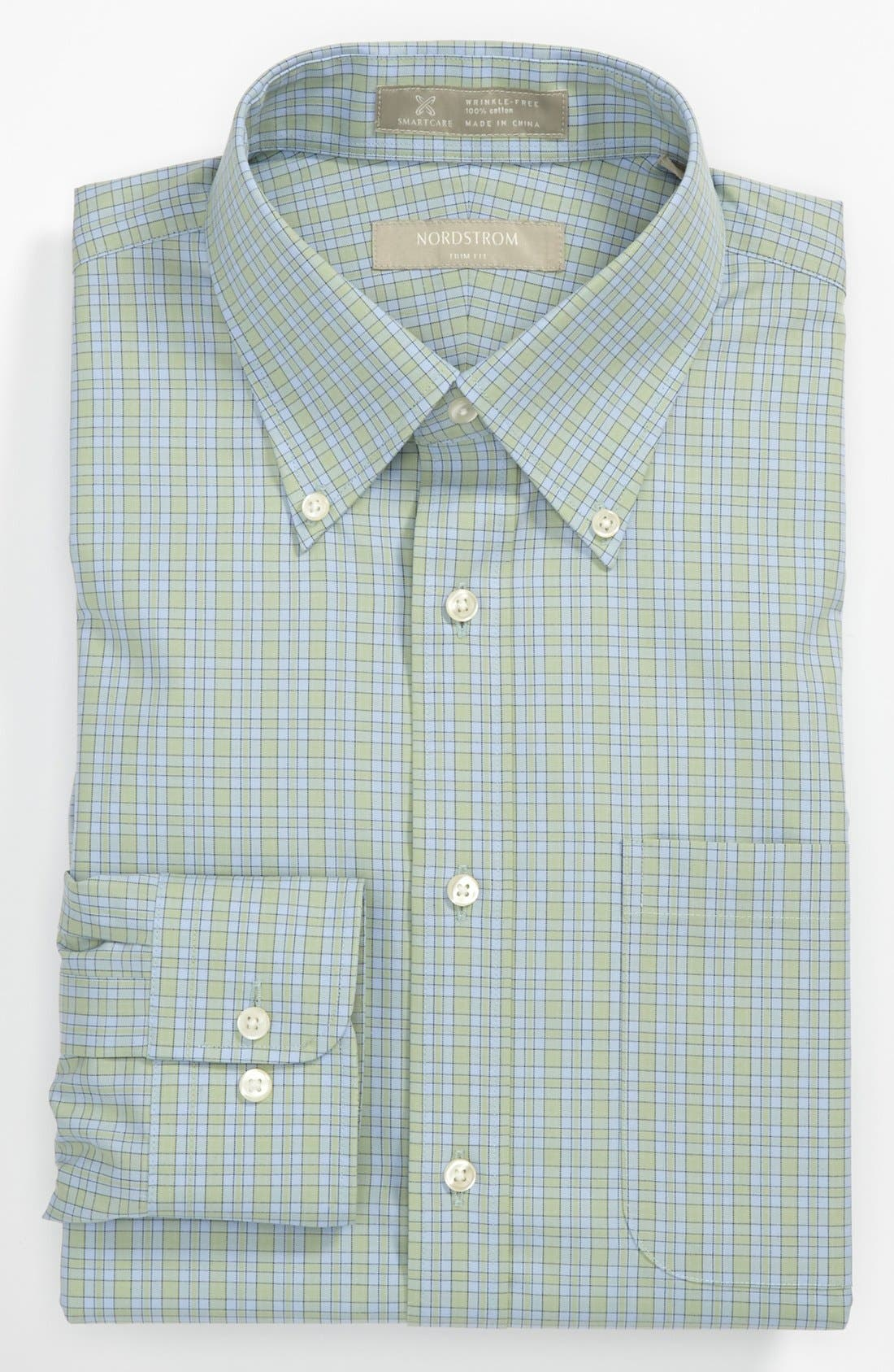 Alternate Image 1 Selected - Nordstrom Smartcare™ Trim Fit Dress Shirt