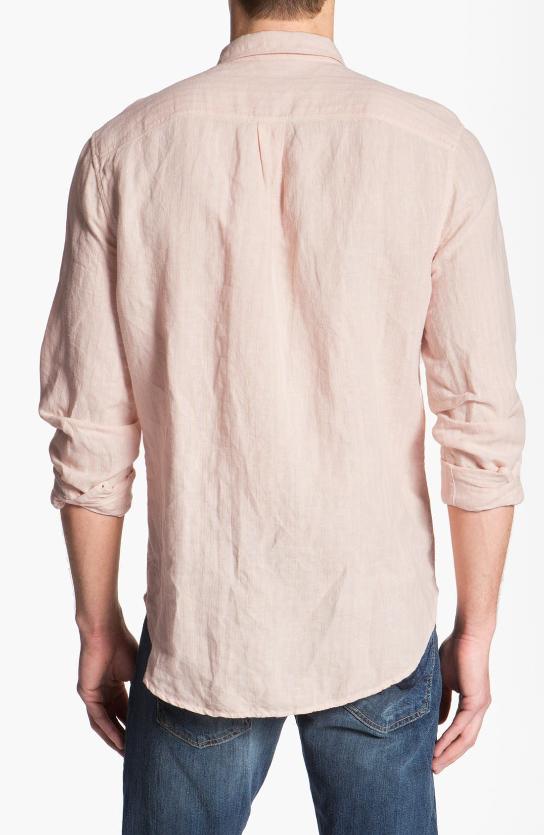 Alternate Image 2  - 7 For All Mankind® Linen & Cotton Shirt