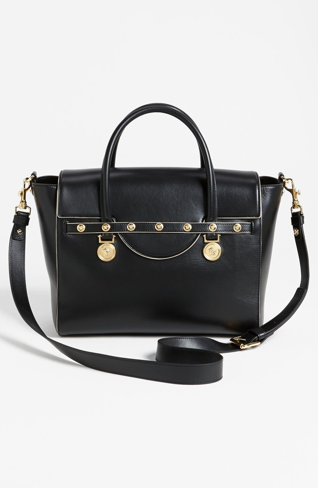 Alternate Image 3  - Versace Top Handle Leather Satchel
