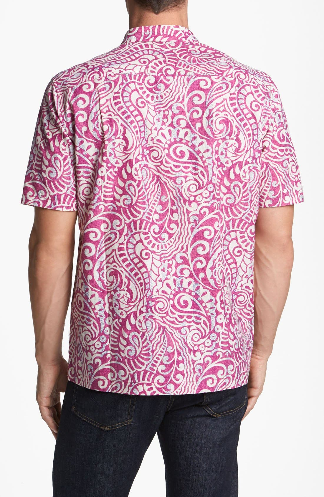Alternate Image 2  - Tommy Bahama 'Prince of Paisley' Campshirt