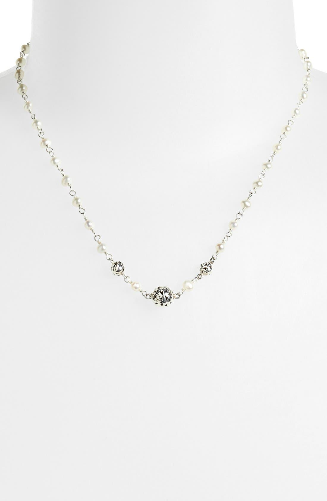 Main Image - Lois Hill Mother-of-Pearl Station Necklace