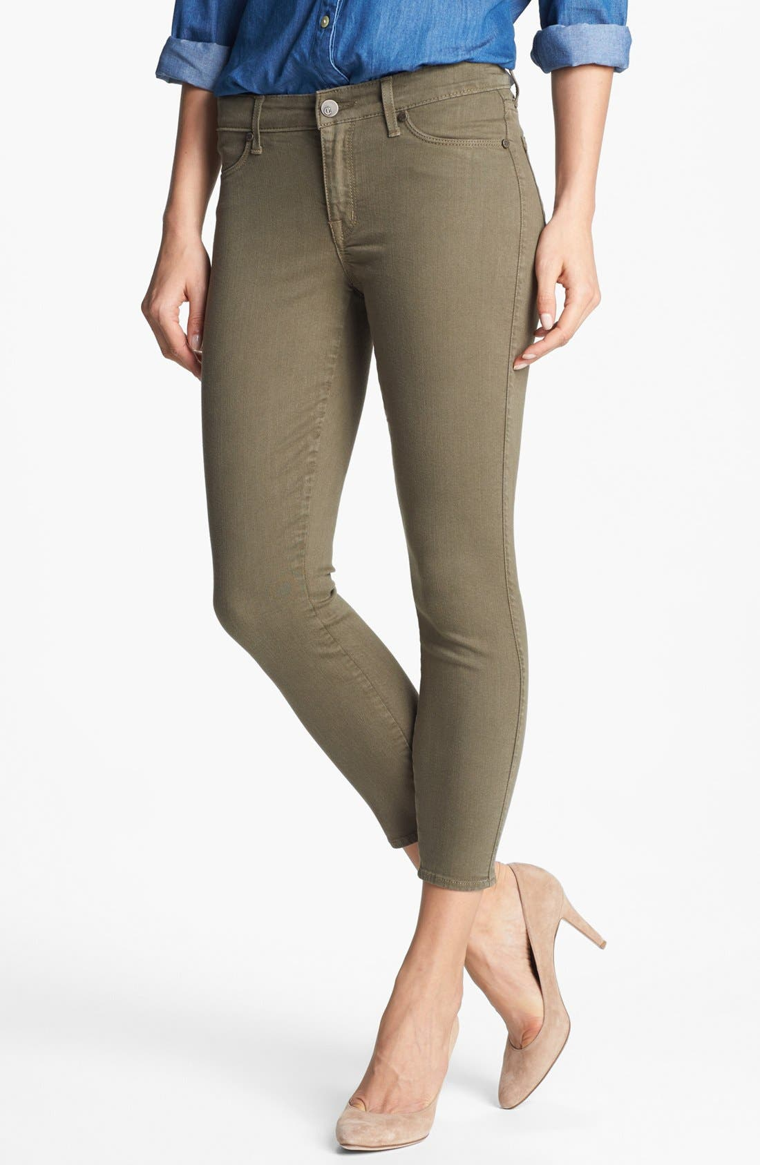 Alternate Image 1 Selected - CJ by Cookie Johnson 'Believe' Skinny Crop Stretch Jeans