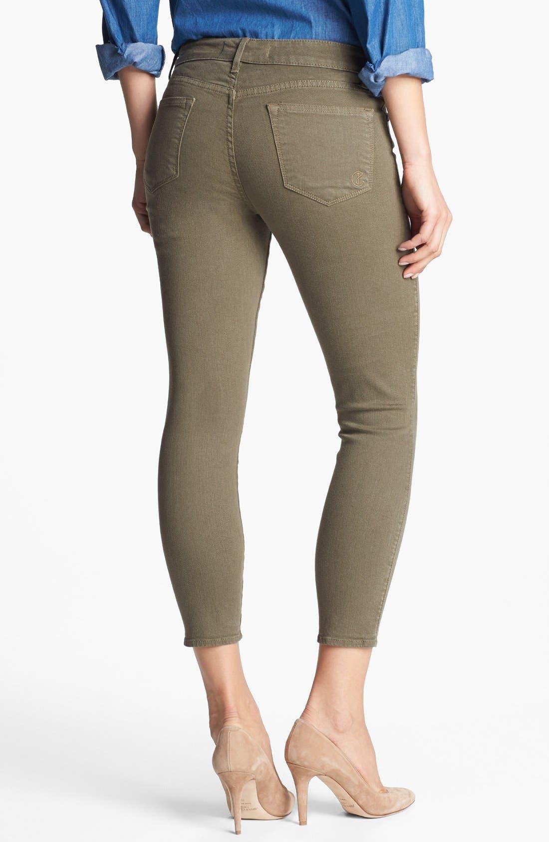 Alternate Image 2  - CJ by Cookie Johnson 'Believe' Skinny Crop Stretch Jeans
