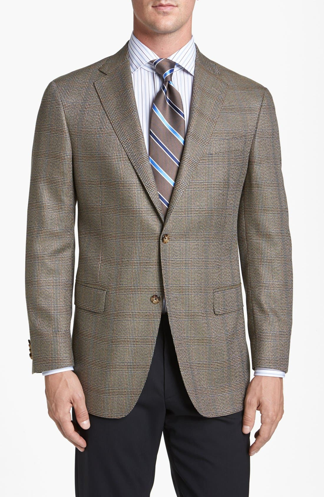 Alternate Image 1 Selected - Hart Schaffner Marx Classic Fit Plaid Sportcoat