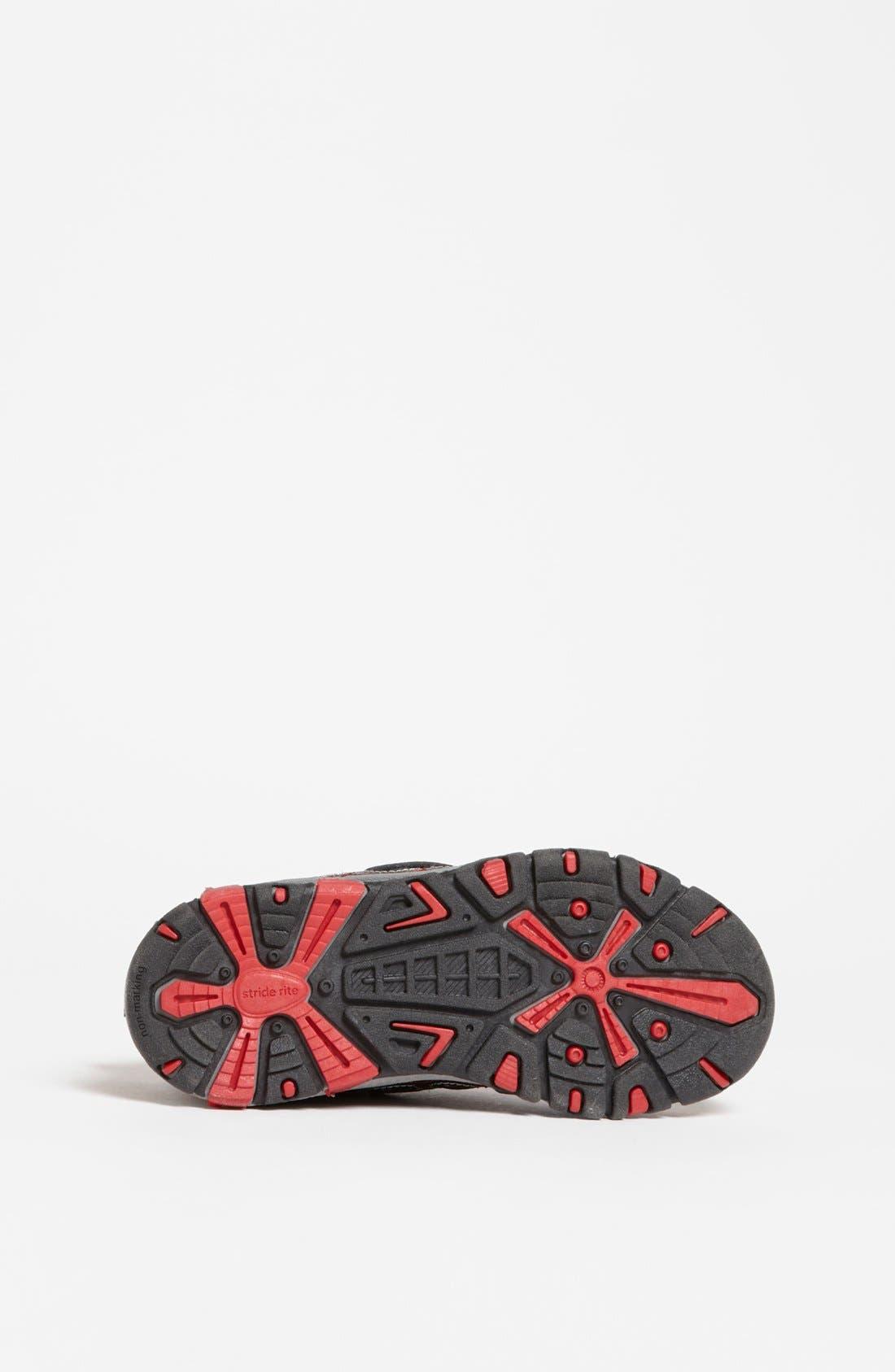Alternate Image 4  - Stride Rite 'Spidey Lights' Sneaker (Walker, Toddler & Little Kid)