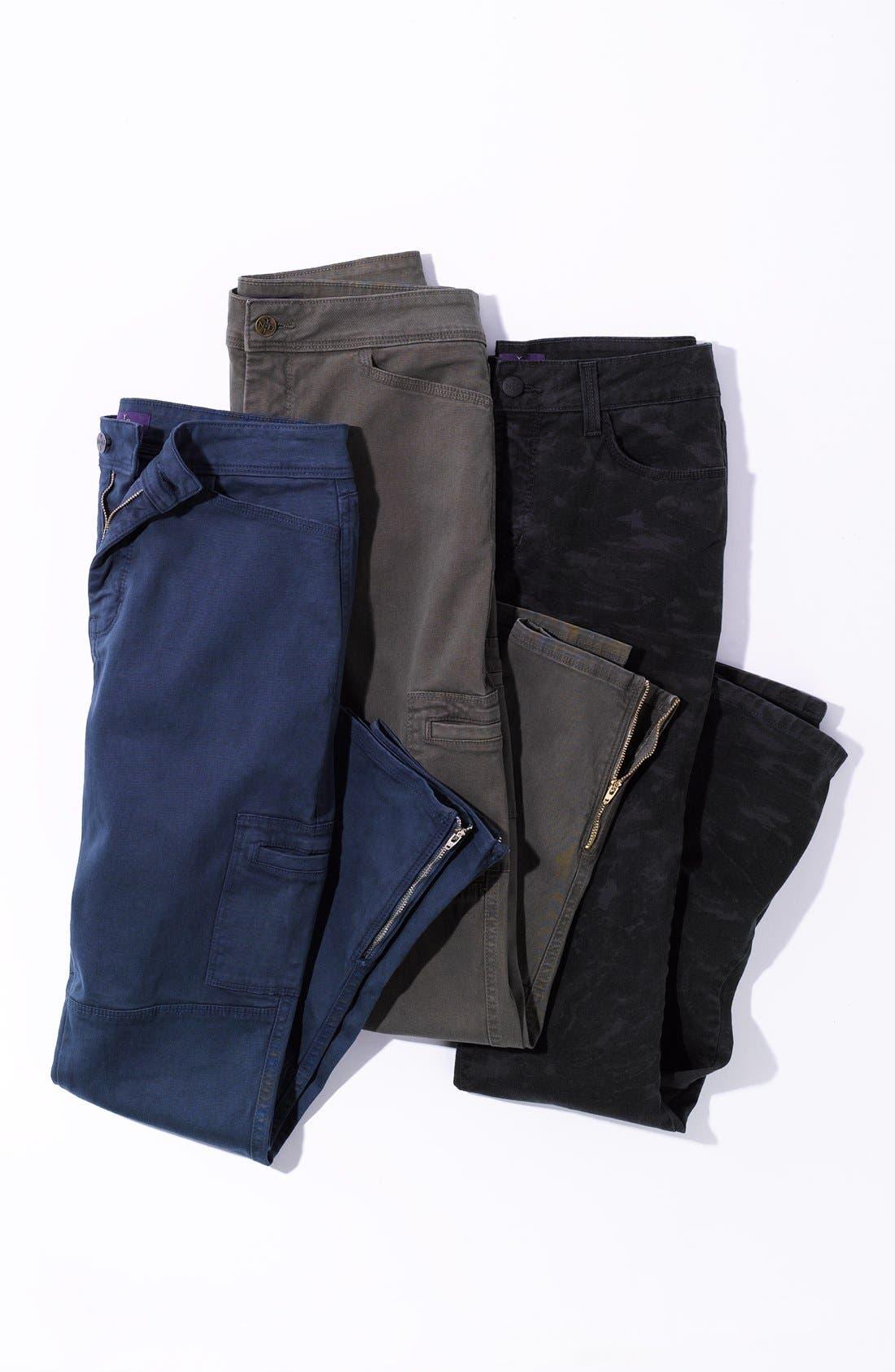 Alternate Image 4  - NYDJ 'Sheri' Print Skinny Stretch Jeans (Regular & Petite)