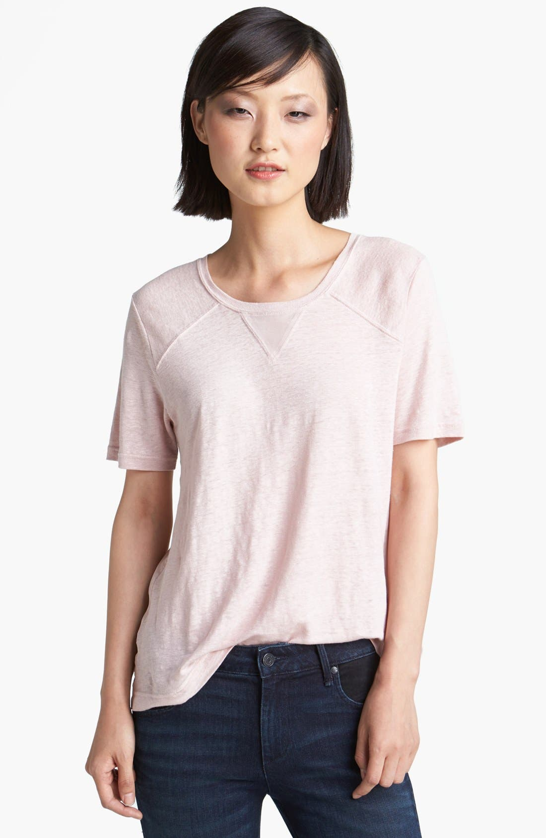 Main Image - MARC BY MARC JACOBS 'Martha' Linen Tee