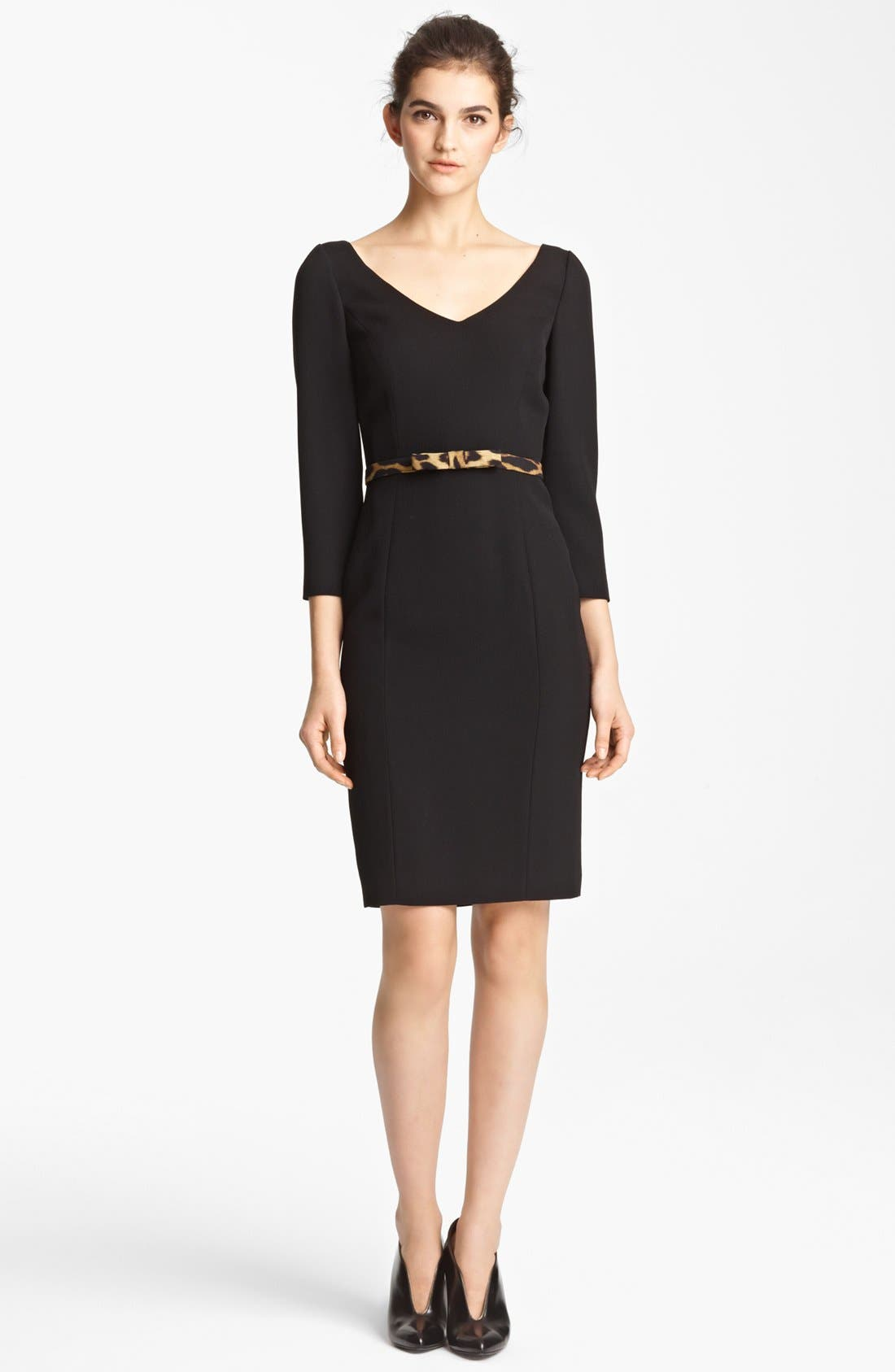 Main Image - Moschino Cheap & Chic Belted Dress