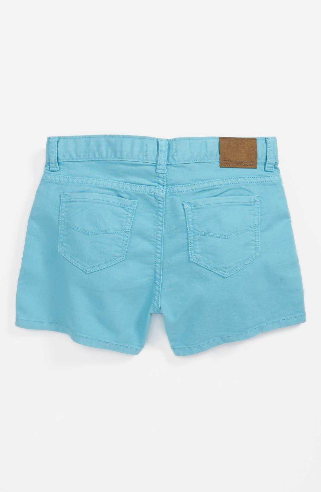 Main Image - Tucker + Tate 'Abbie' Denim Shorts (Big Girls)