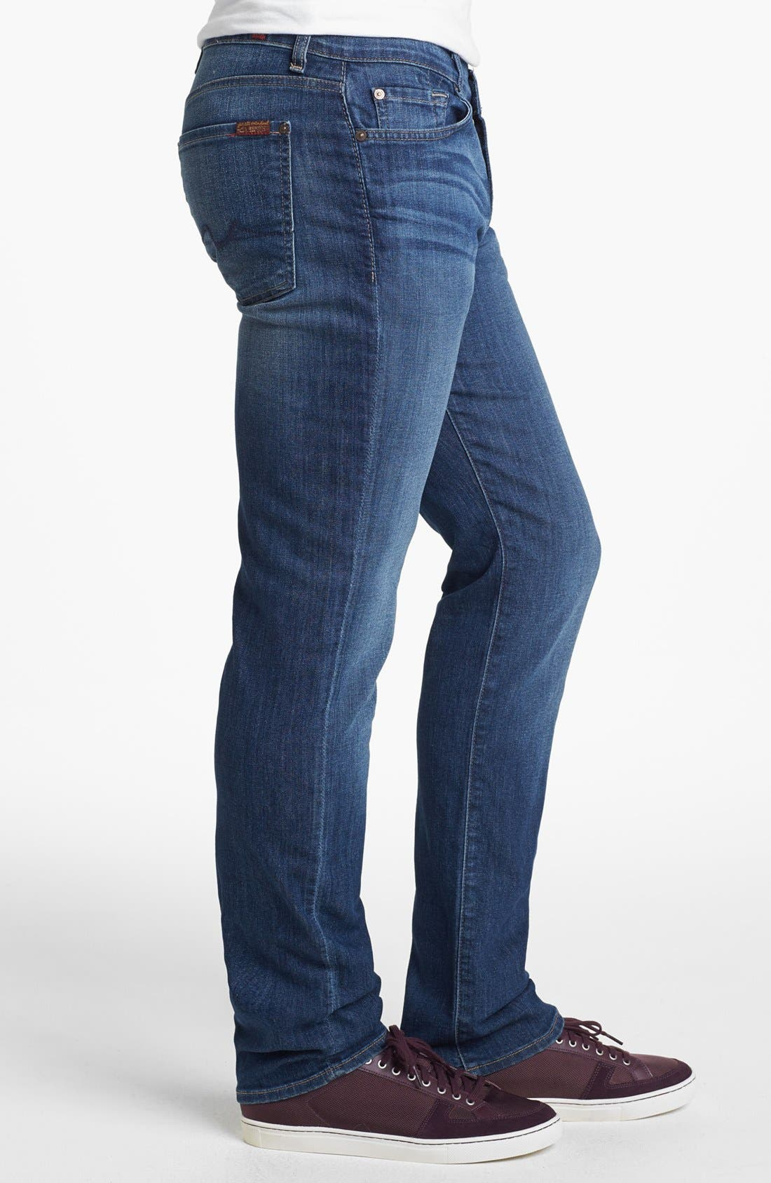 Alternate Image 3  - 7 For All Mankind® 'Slimmy' Slim Fit Jeans (Maricopa Springs)