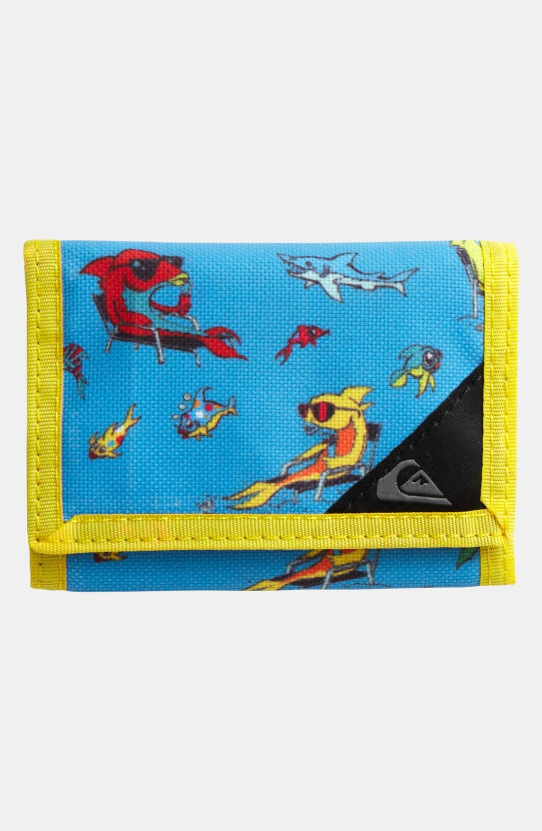 Main Image - Quiksilver 'Seeker' Wallet (Boys)