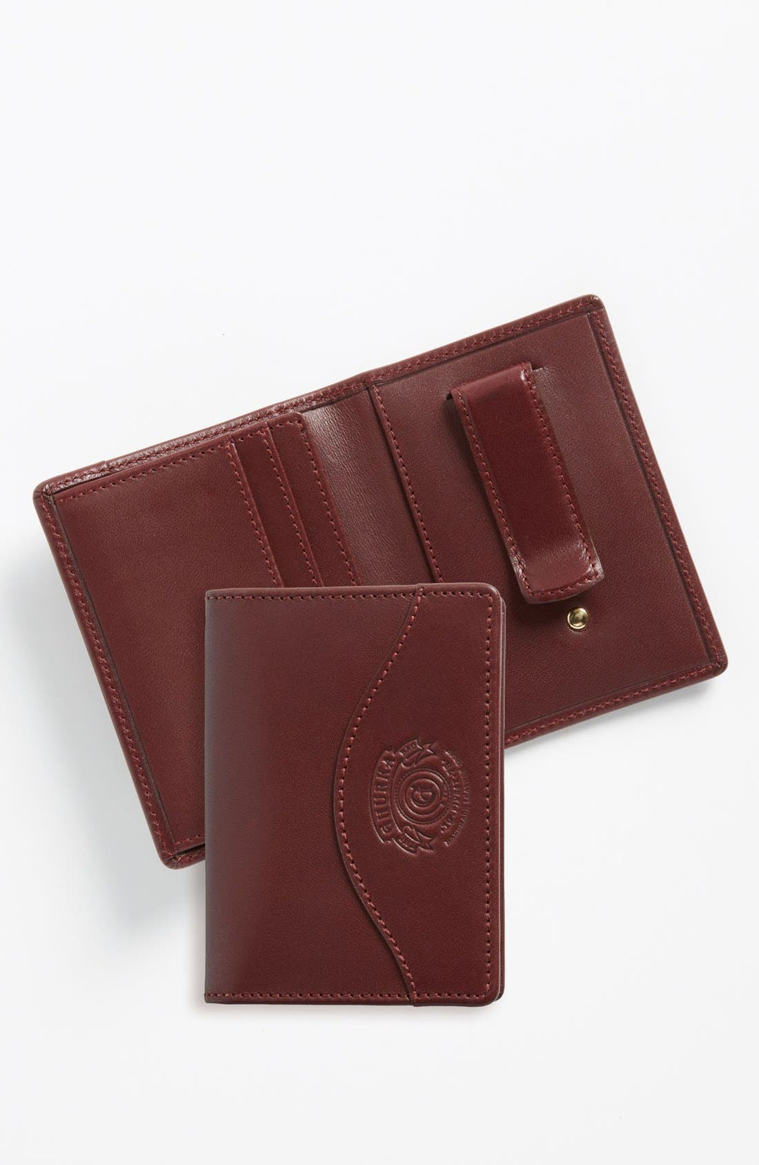 Main Image - Ghurka Leather Money Clip Wallet
