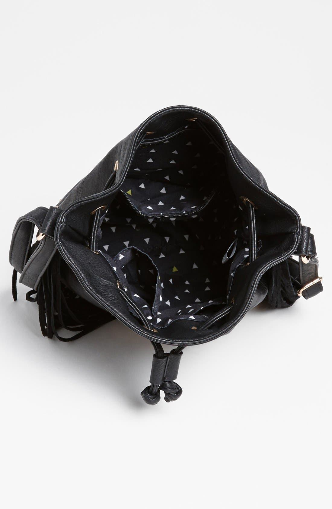 Alternate Image 3  - Street Level Fringe Shoulder Bag