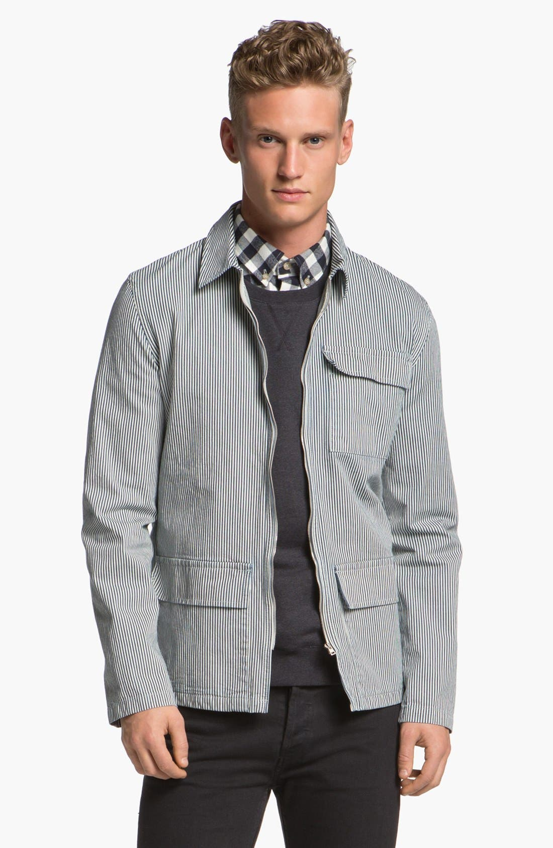 Alternate Image 1 Selected - A.P.C. Canvas Field Jacket