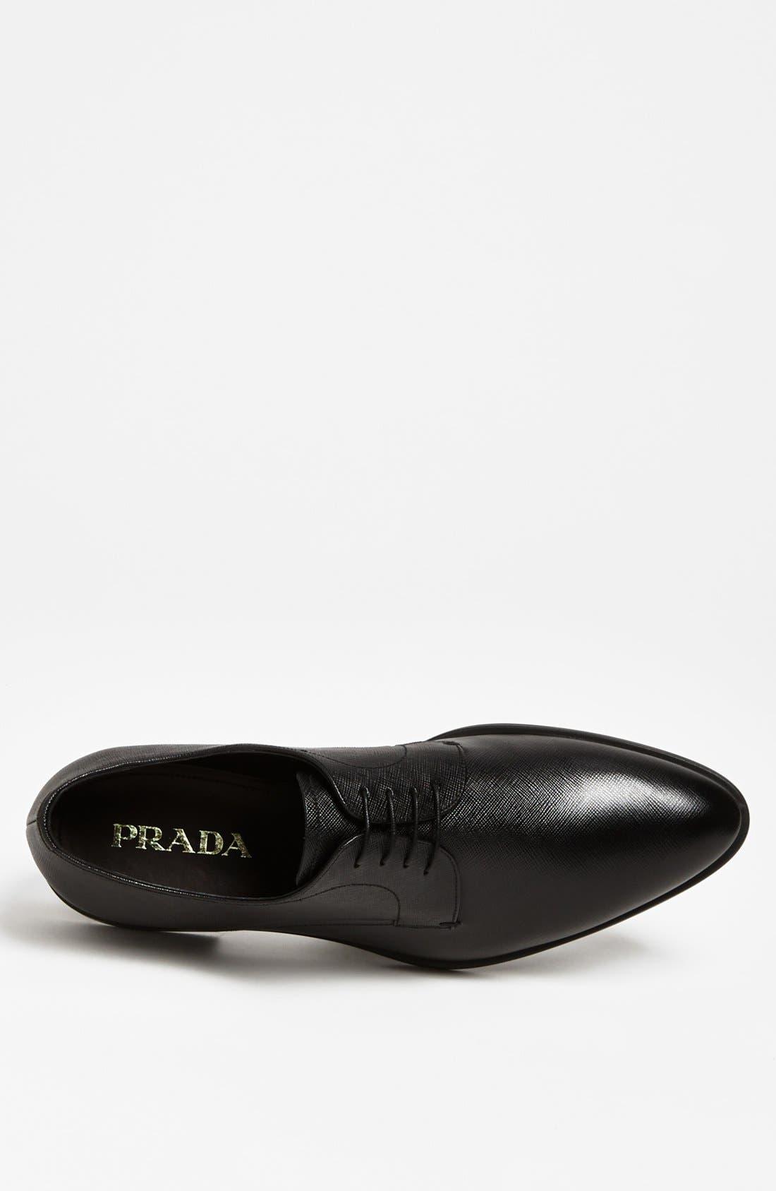 Alternate Image 3  - Prada Plain Toe Derby (Men)