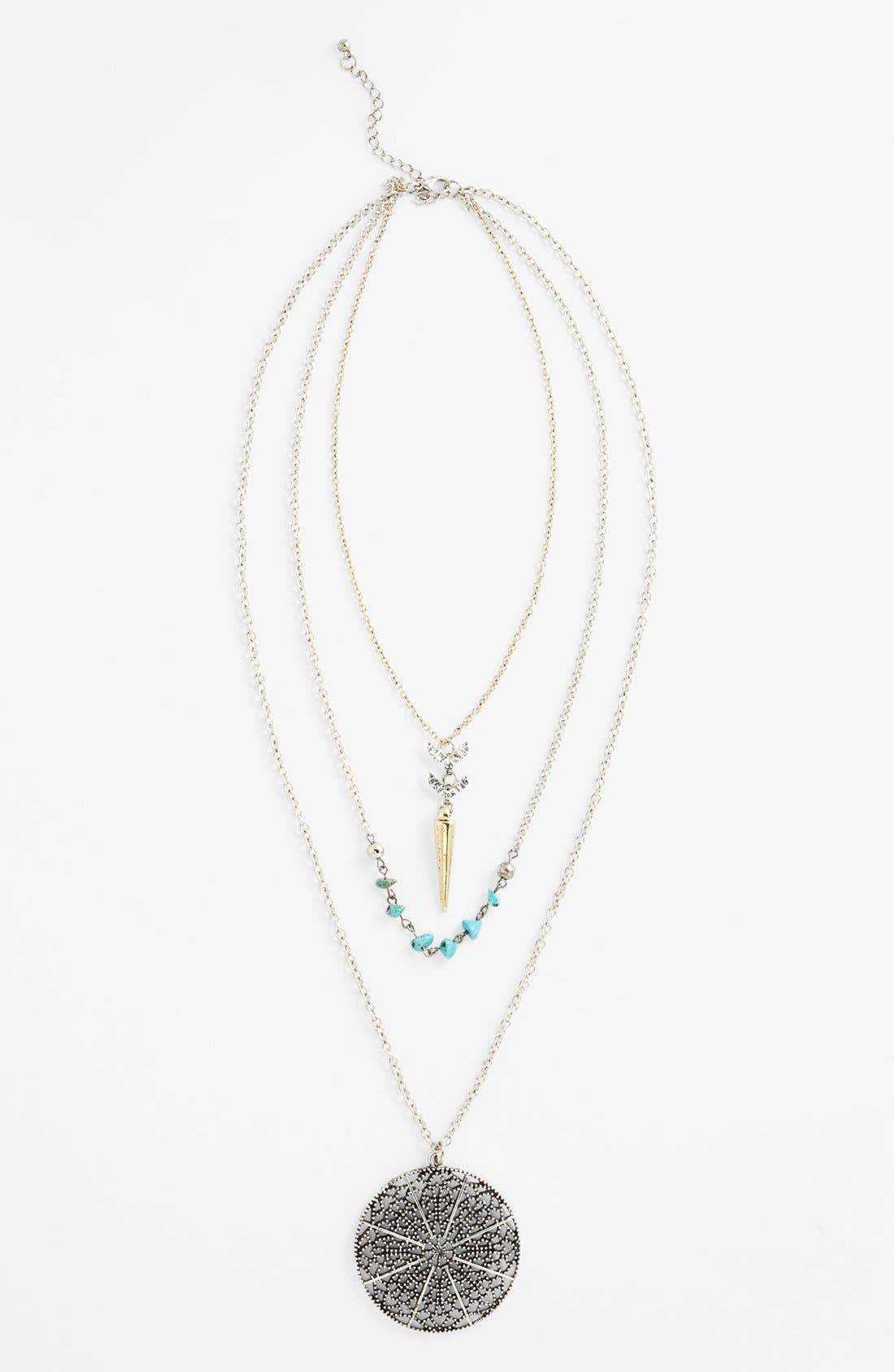 Main Image - Orion Triple Strand Necklace