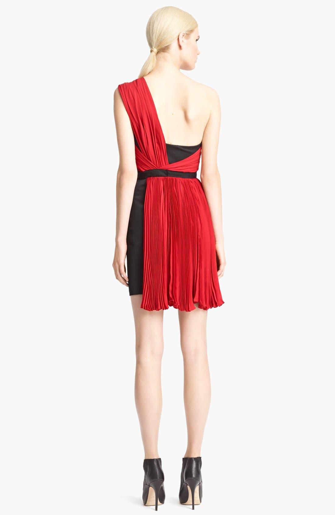 Alternate Image 2  - Jason Wu One Shoulder Pleated Dress
