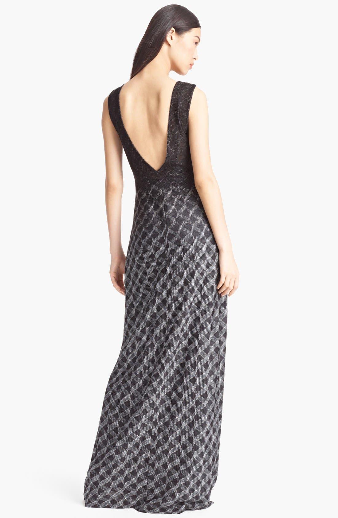 Alternate Image 2  - Missoni Dégradé Gown