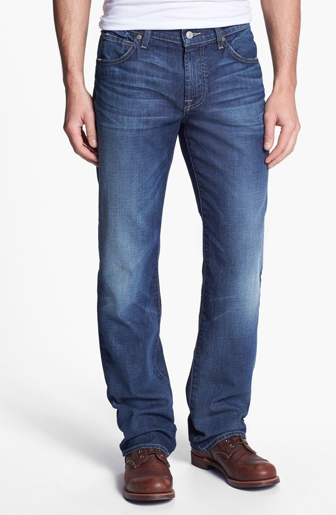Alternate Image 2  - 7 For All Mankind® 'Austyn' Relaxed Fit Jeans (Deep Creek)