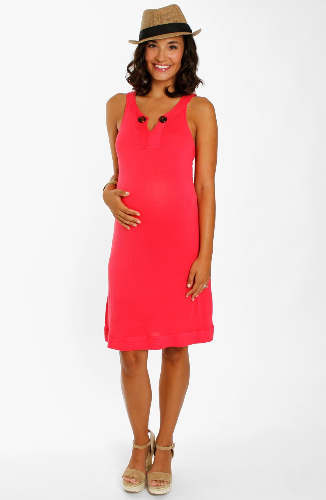 Alternate Image 1 Selected - Everly Grey 'Eden' Maternity Dress