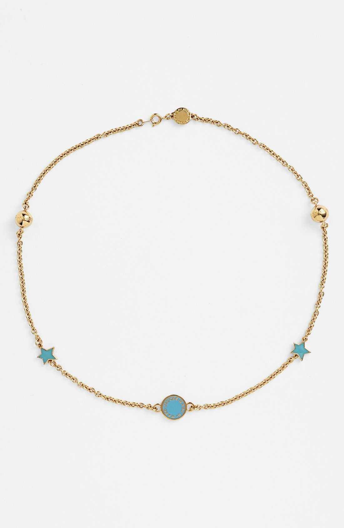 Alternate Image 1 Selected - MARC BY MARC JACOBS 'Classic Marc' Station Necklace
