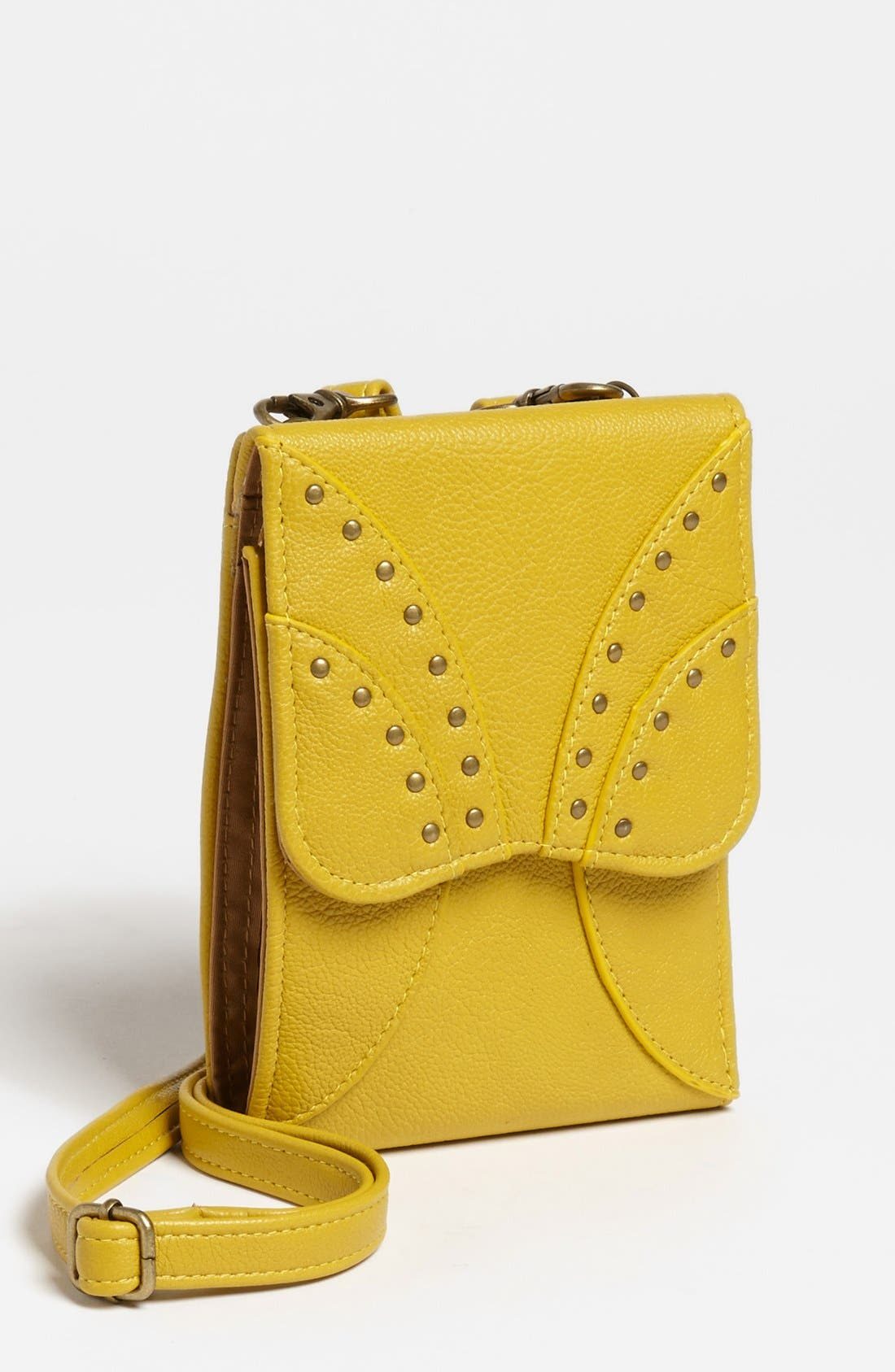 Alternate Image 1 Selected - Jessica Simpson 'Kenya' Faux Leather Wallet