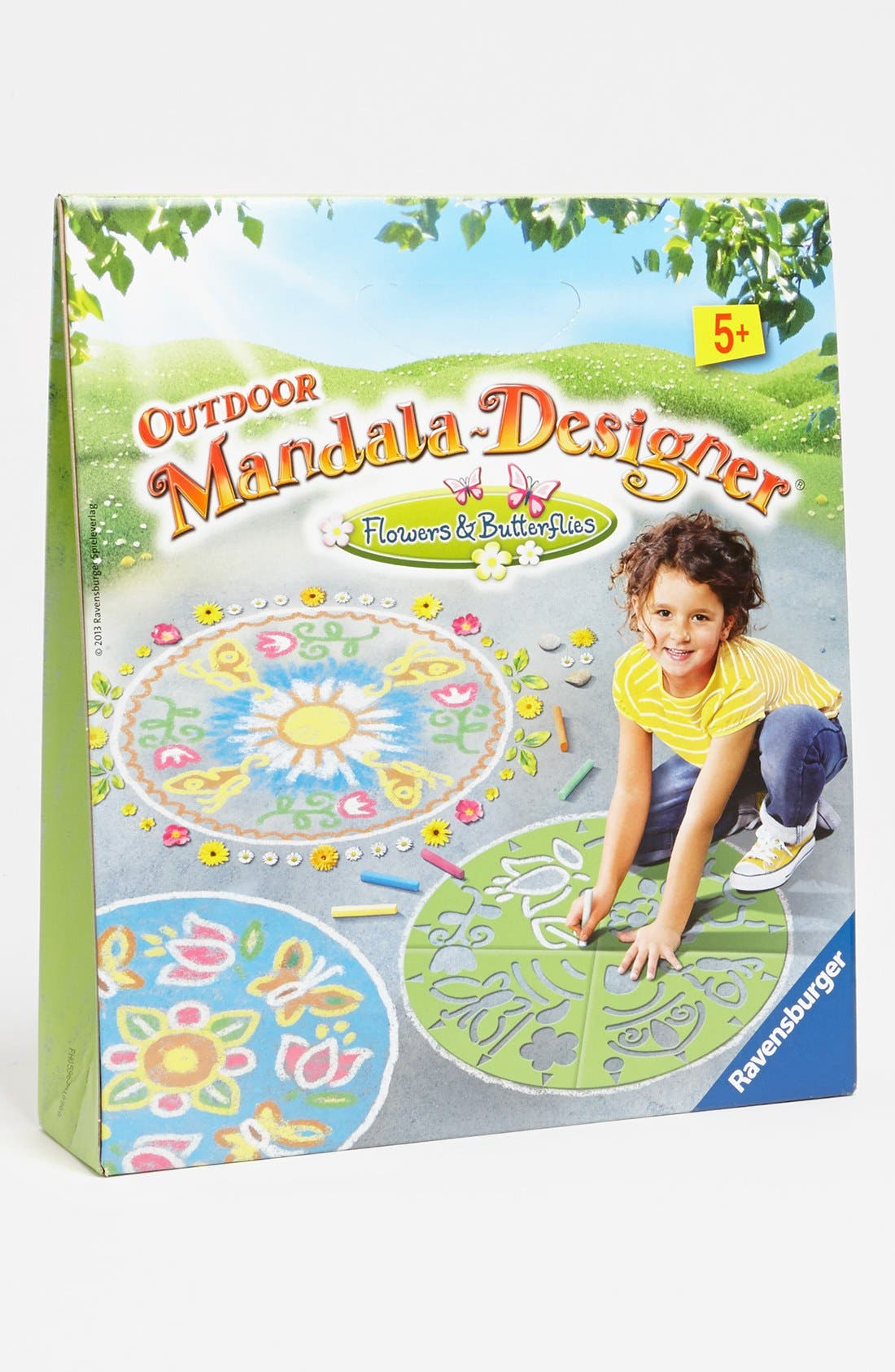 Alternate Image 1 Selected - Ravensburger 'Flowers & Butterflies' Outdoor Mandala Designer