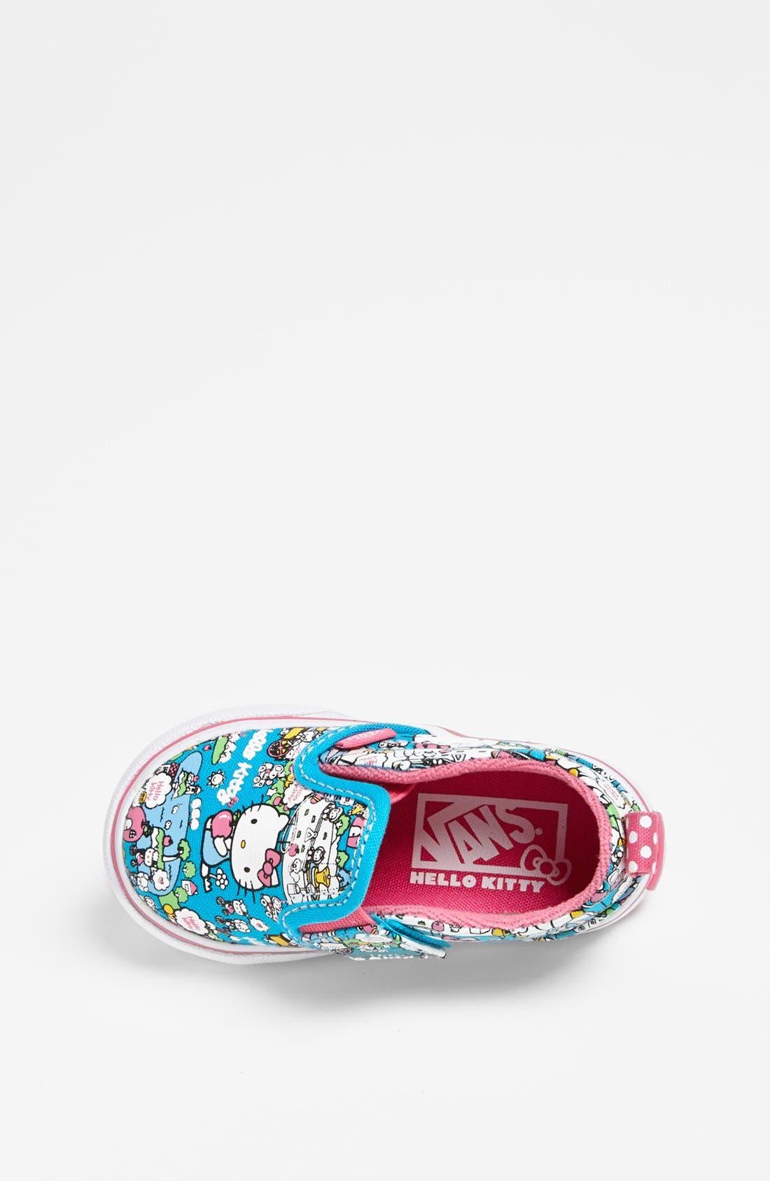 Alternate Image 3  - Vans 'Classic - Hello Kitty®' Slip-On (Baby, Walker & Toddler)
