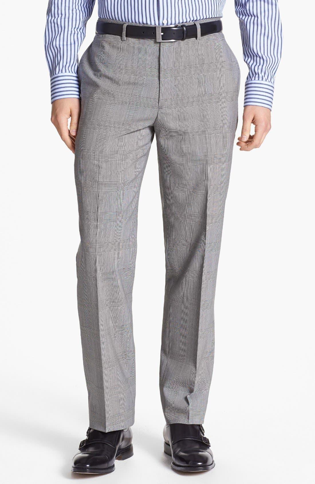 Alternate Image 4  - English Laundry Trim Fit Plaid Suit