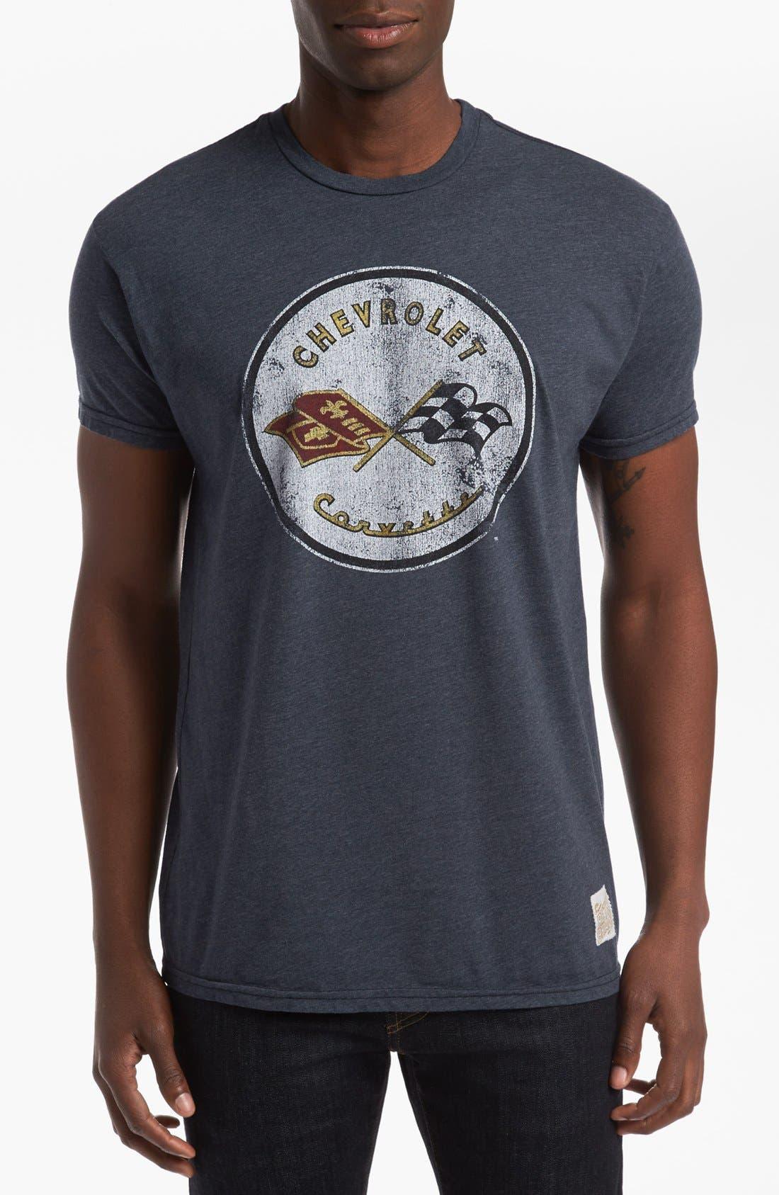 Alternate Image 1 Selected - Retro Brand 'Chevrolet' T-Shirt