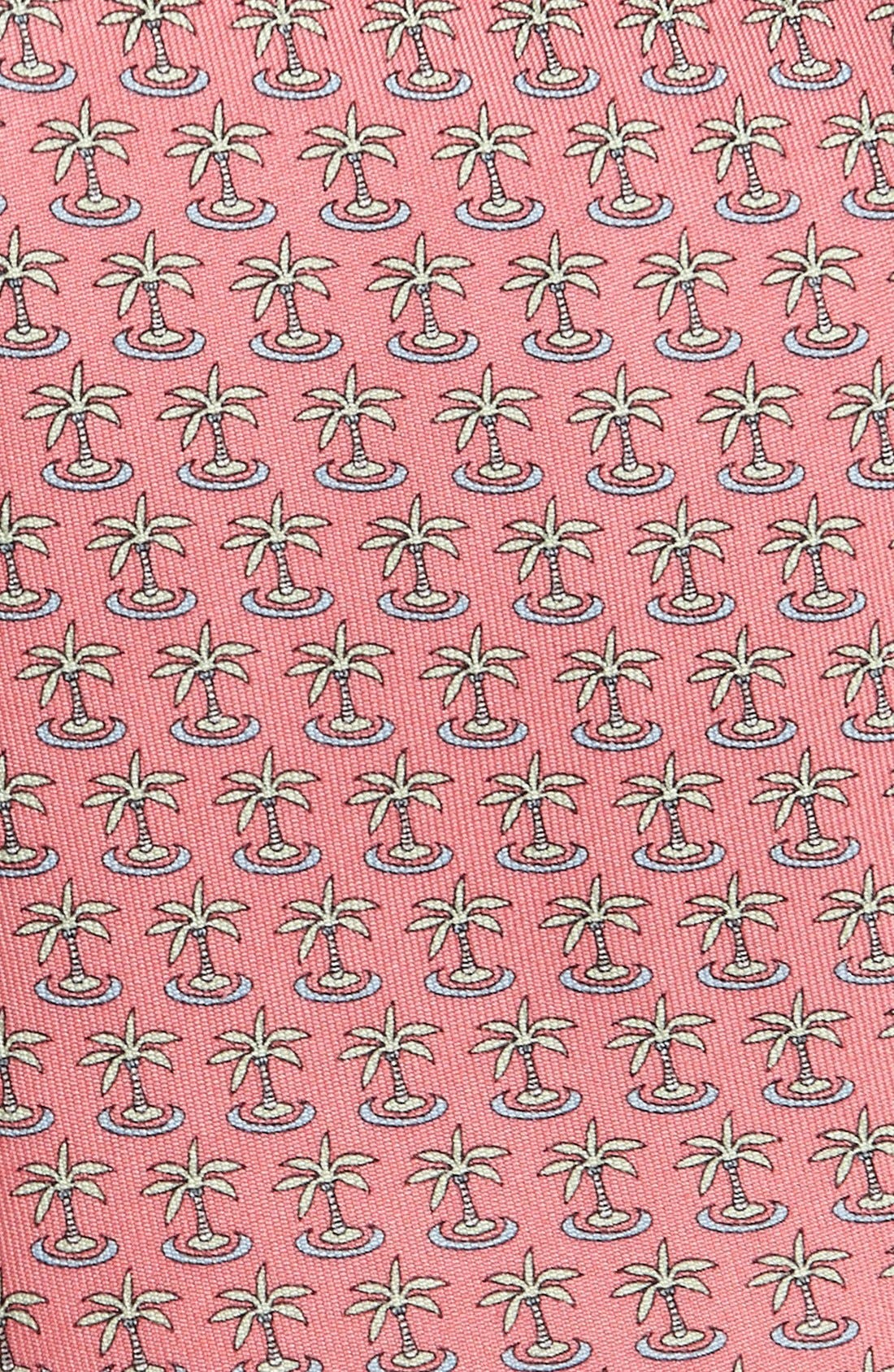 Alternate Image 2  - Vineyard Vines Palm Tree Print Silk Tie